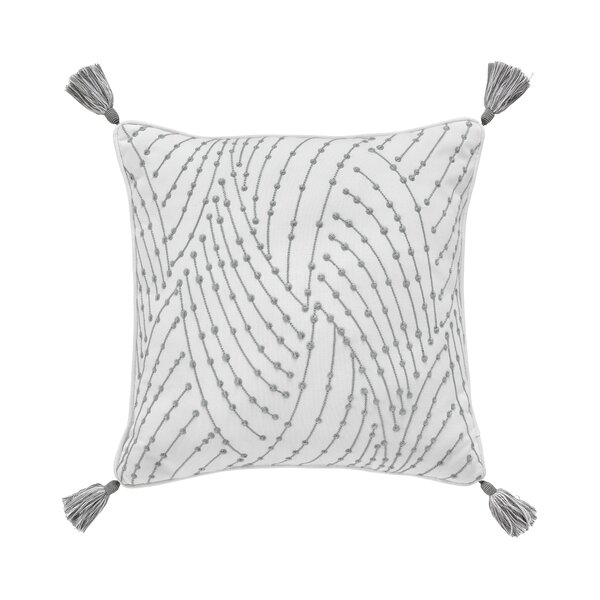 Eleyana 100% Cotton Throw Pillow by Croscill Home Fashions